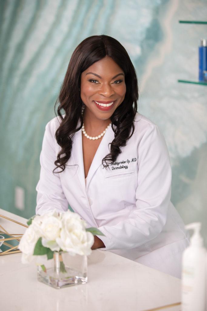 African American dermatologist Dedham