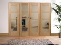 OAK Oslo Pre-finished Room Divider Range  Vibrant Doors