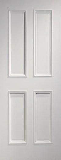 Rochester White 4 Panel Door | Solid Doors | Vibrant Doors