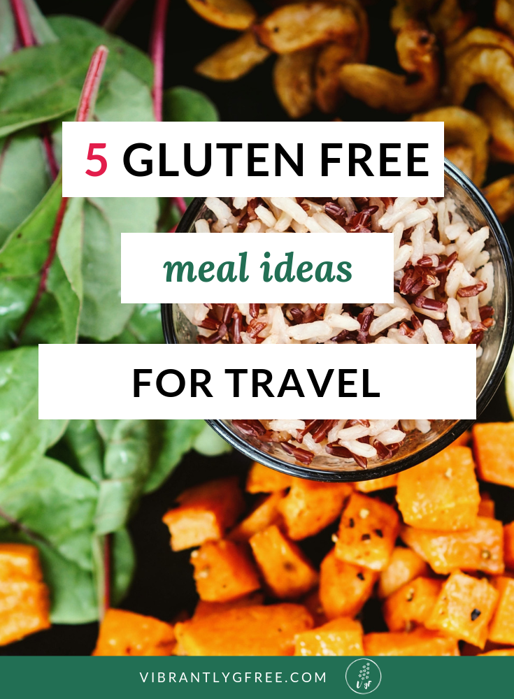 gluten free meal ideas for travel PIN