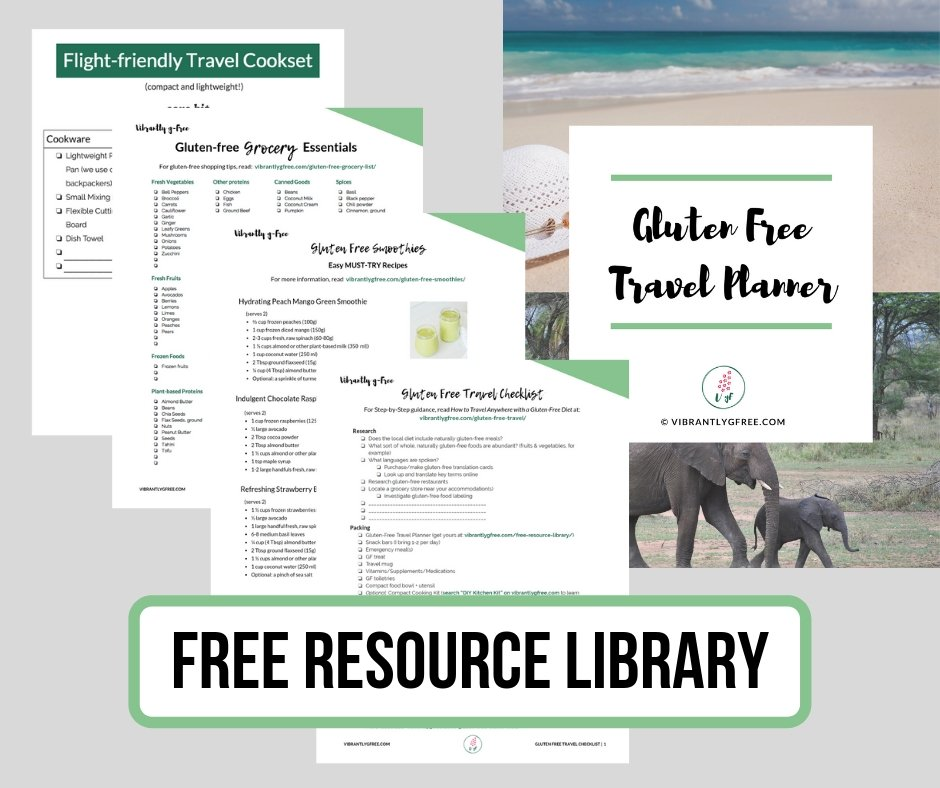 Gluten Free Resources library