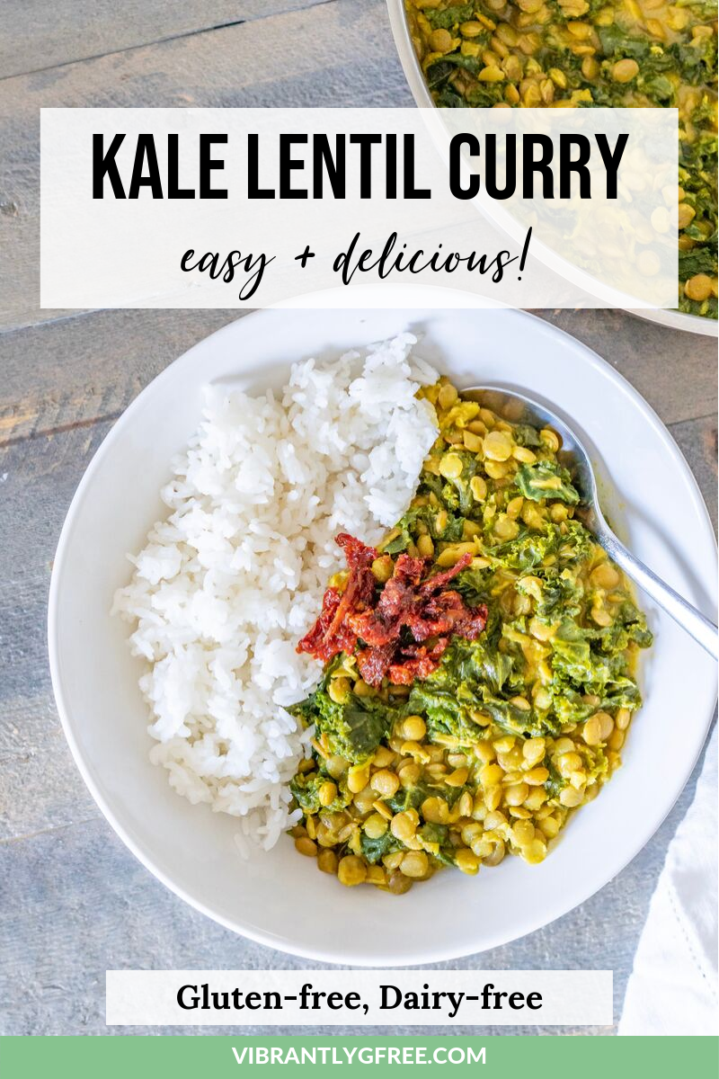 Lentil Curry Gluten Free PIN 3
