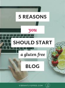 Gluten free blog PIN