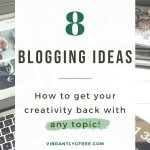 Blogging Ideas PIN 1
