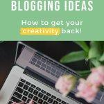 Blogging Ideas PIN 2