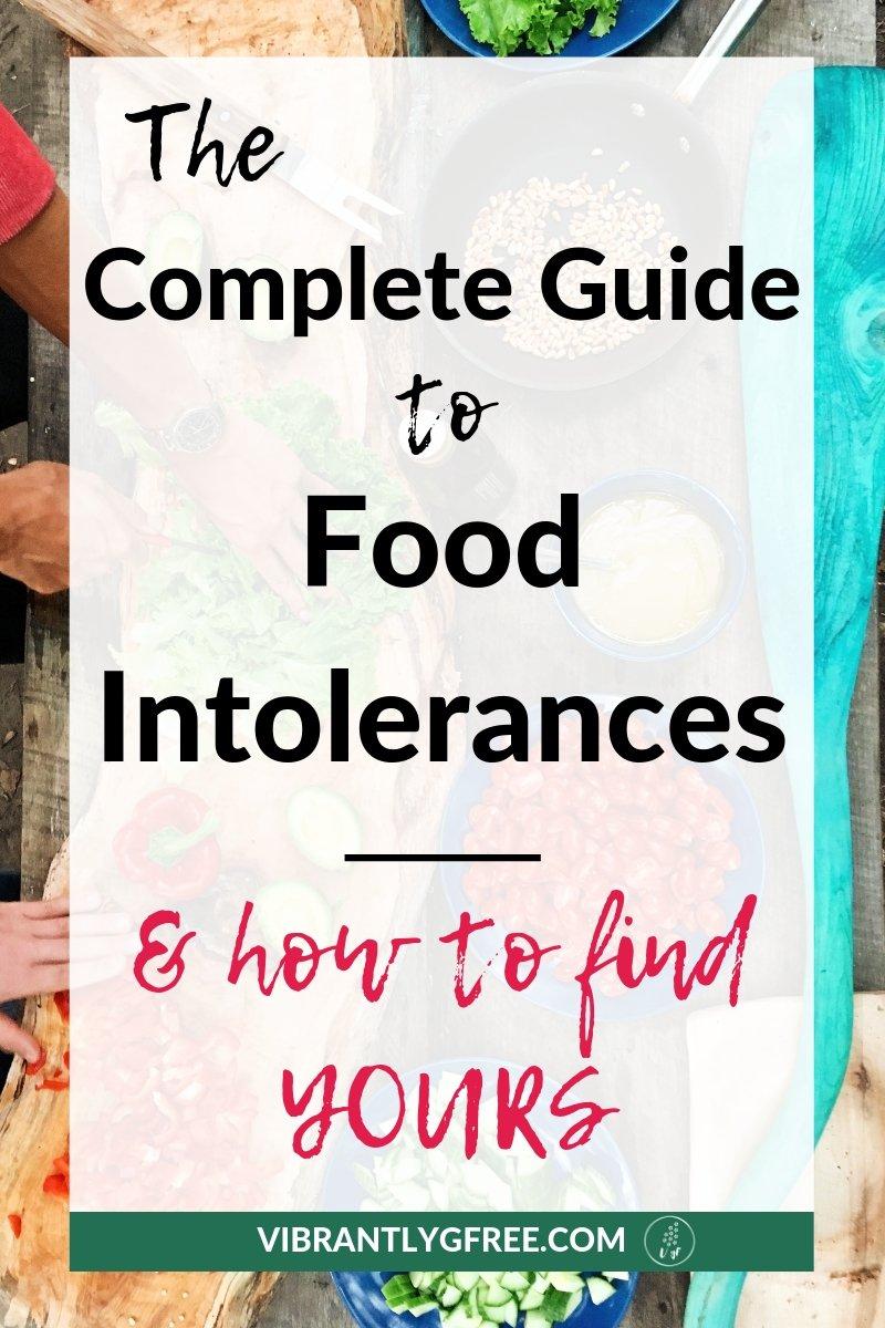 Food Intolerances PIN