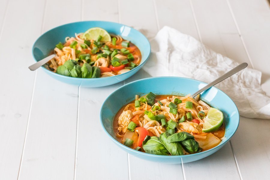 Thai Red Curry Soup 1