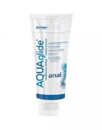 AQUAGLIDE ANAL LUBRICANT para masaje prostático con agua