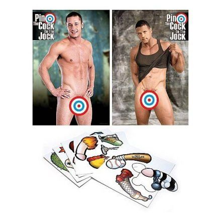 Juego pin the cock on the jock en vibrashop