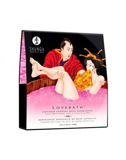 ESPUMAS DE BAÑO SENSUAL DRAGON FRUIT SHUNGA para sexo bajo el agua