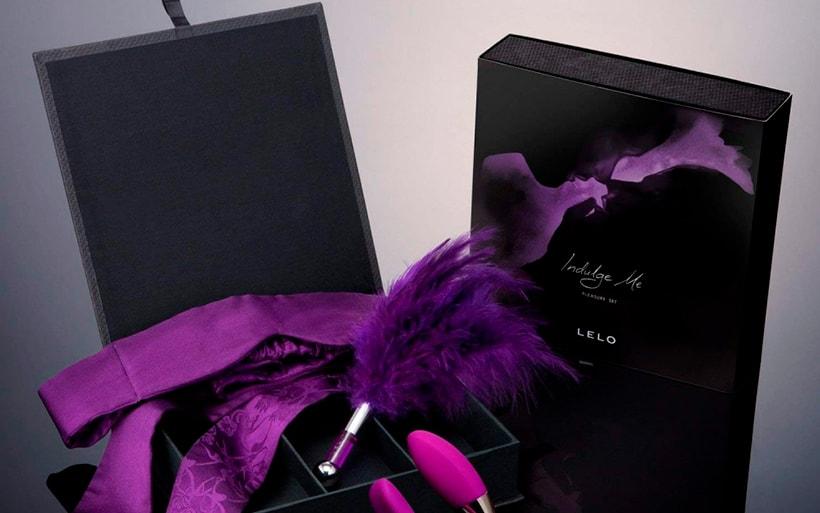 Cajas de regalo de la marca LELO especialistas en juguetes sexuales