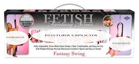 Columpio sexual fetish fantasy series en Vibrashop