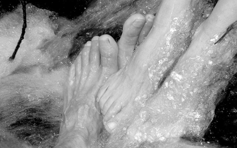 Masturbación con los pies