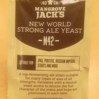 Mangrove Jack's New World Strong Ale ølgær