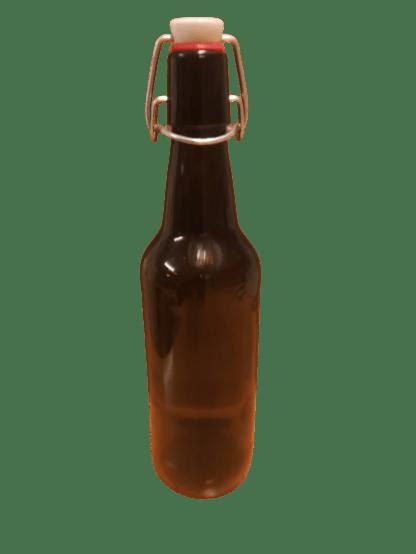 Halvliters flaske med patentprop
