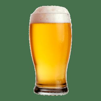 Øl med skum