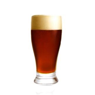 Kastanjebrun øl