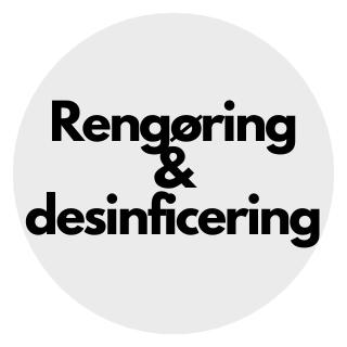 Rengøring og desinficering