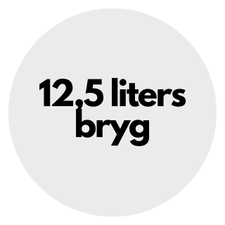 12,5 liters bryg