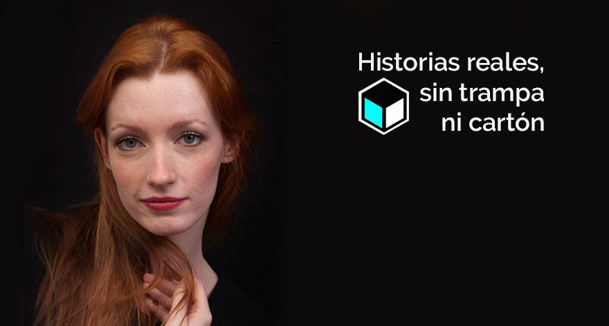 Histoias VIbuk | actriz de Vibuk Partricia Bertrad
