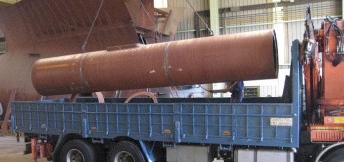 Calderería industrial y tubería