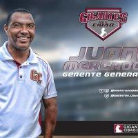 Juan Mercado nombrado gerente Gigantes; Alfredo Acebal vicepresidente