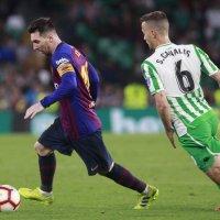 Messi brilla con triplete en victoria del Barça sobre Betis