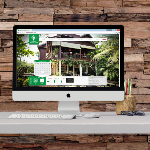 Sambor Villa Hotel Website Project