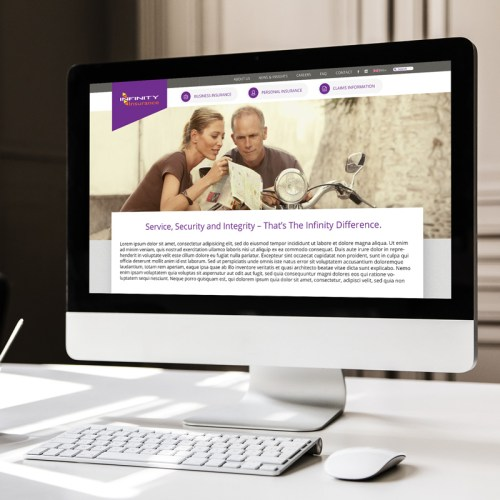 Infinity Insurance ReBranding Project