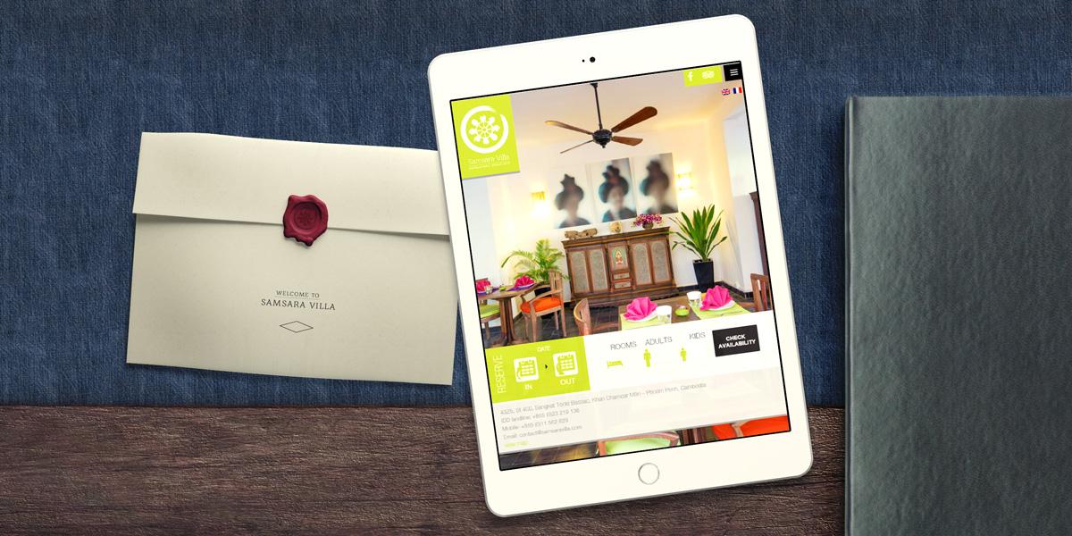 Samsara Villa Hotel Mobile Site
