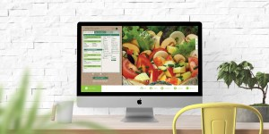 Vego Salad Bar Desktop Website Design