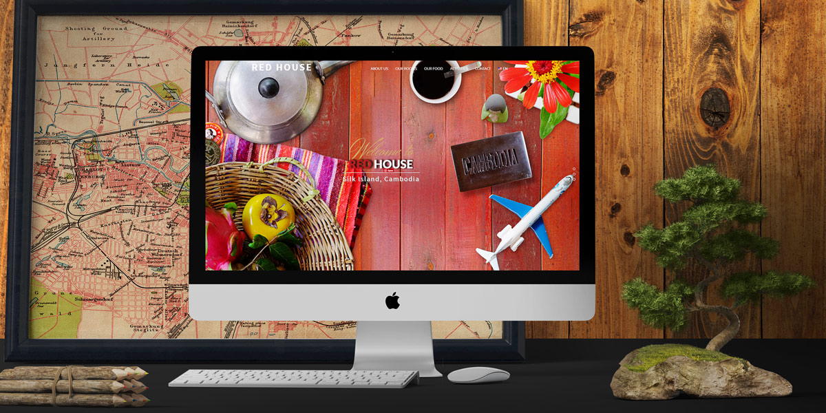 Red House Guesthouse Website Design