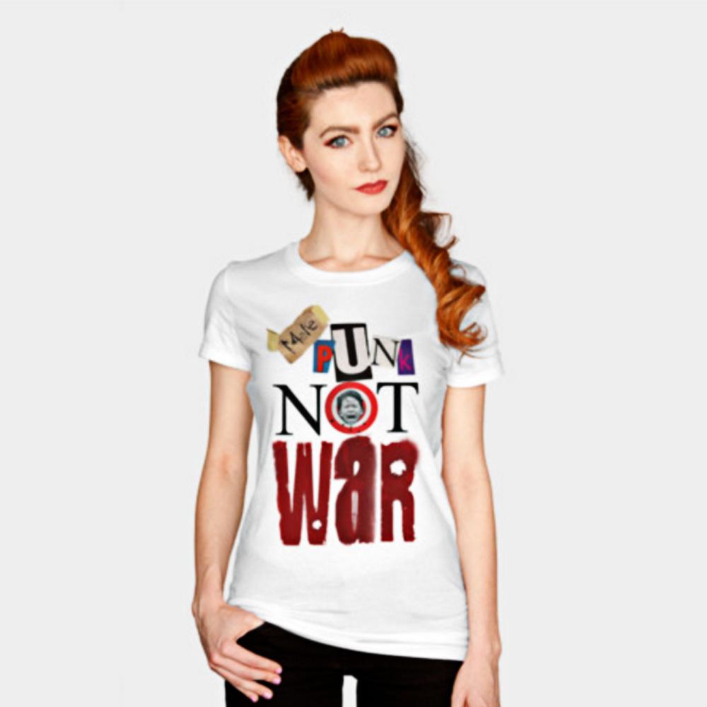 Vice Design Co. Apparel Make Punk Not War Tee-Shirt