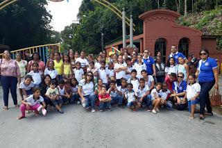 Prefeitura realiza excursão pedagógica ao Instituto Ricardo Brennand e Zoológico do Recife