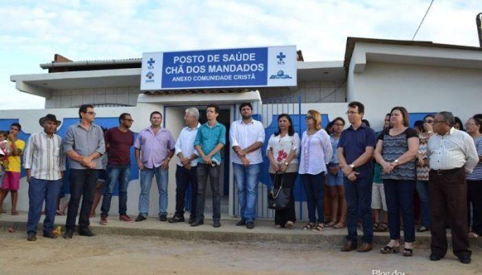 No dia da emancipação, Prefeitura de Vicência entrega Posto de Saúde à comunidade da Chã dos Mandados