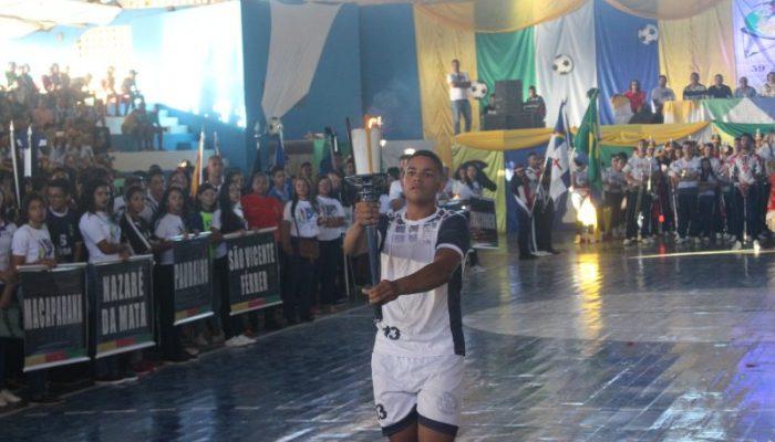Em Vicência, cerimônia abre oficialmente Jogos Escolares Regional Mata Norte