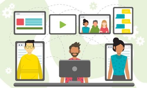 Com fer reunions virtuals efectives? Algunes idees!