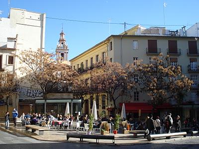 Centro histórico peatonal