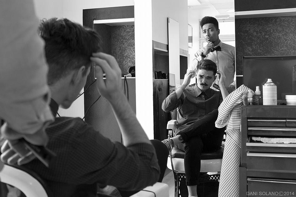 Los 3 bigotes una barbería genial