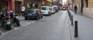 centro historico coches