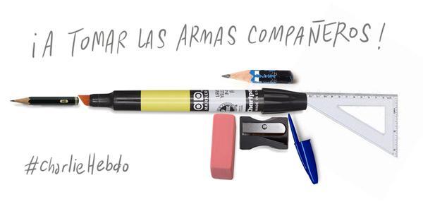 JeSuisCharlie: Así funciona la prensa y el mundo