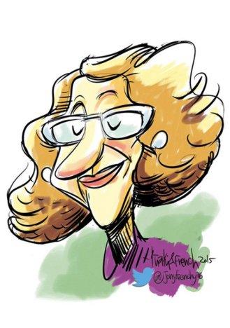 Caricatura de Iñaki Frenchy @jonyfrenchy76