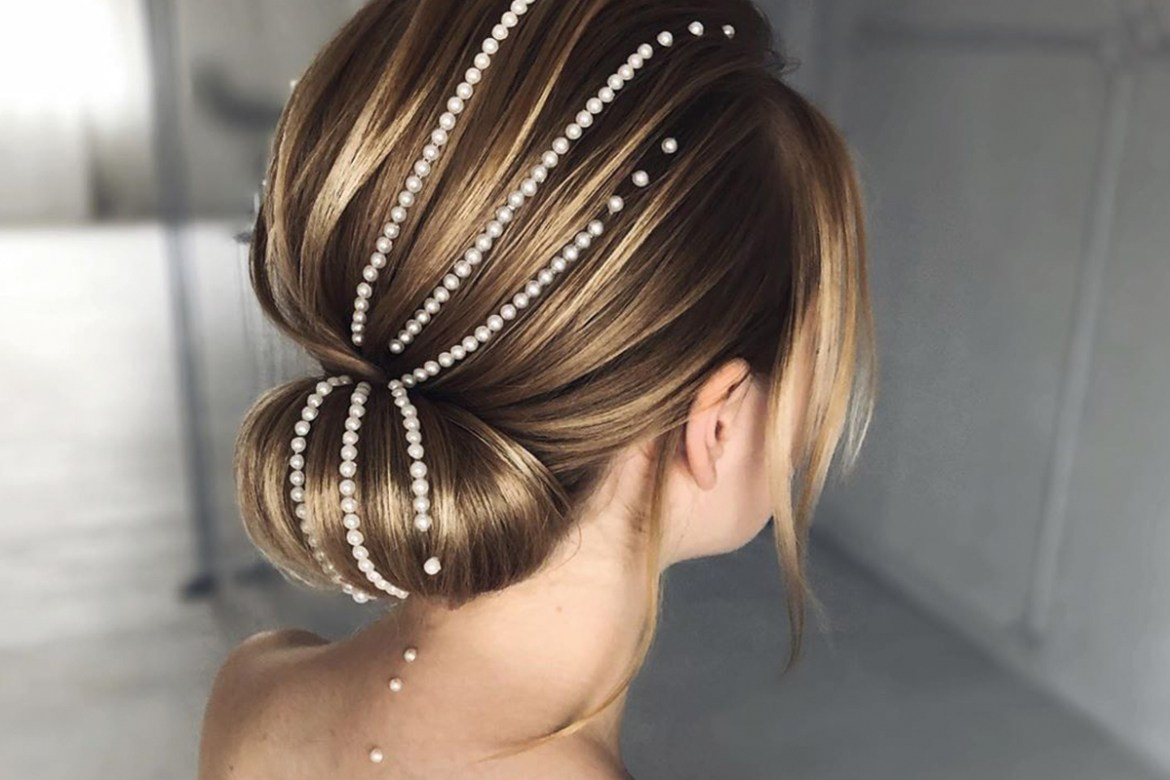 Pearls in your hair