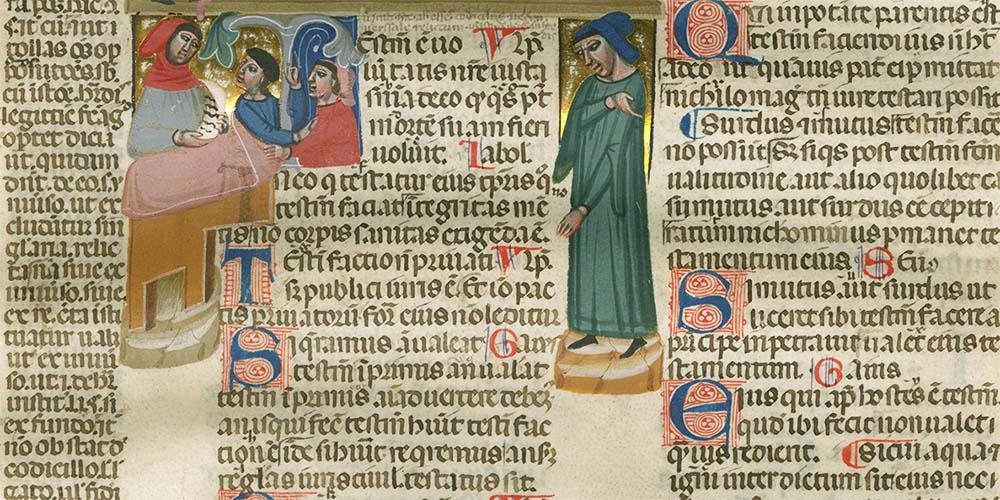 Bertoliana, restaurato manoscritto miniato del '300