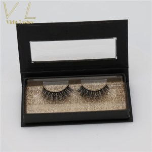 cheap customized packaging 3d mink eyelashes