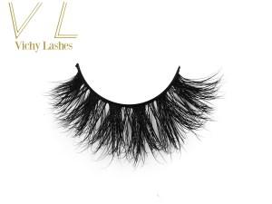 Wholesale private label eyelashes mink 3d mink lashes false eyelashes manufacturer