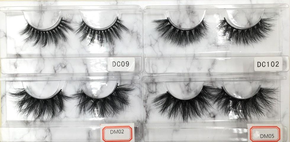 eyelash sample pack