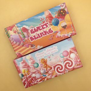 Custom Eyelash Packaging Eyelash Candy Boxes