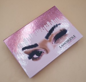 3pairs custom eyelash packaging
