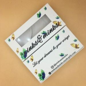 custom Butterflies lash boxes